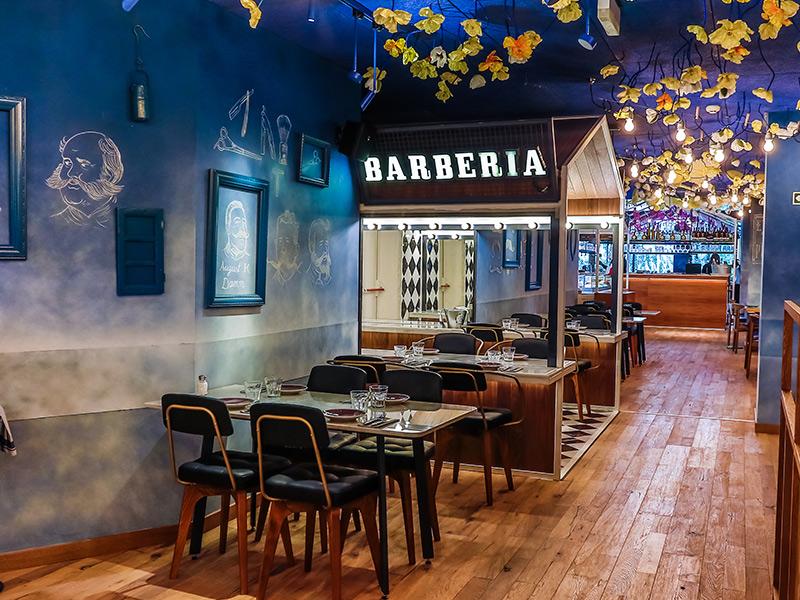 Barber shop bellavista del jard n del norte for Bellavista jardin del norte